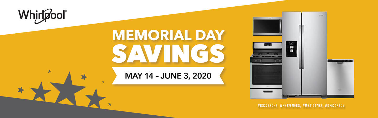 Whirlpool Memorial Day Sale
